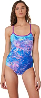 Speedo Women's Open X Back One Piece Polyester