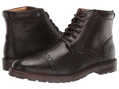 Florsheim Fenway Cap Toe Boot (Brown Chocolate) Men
