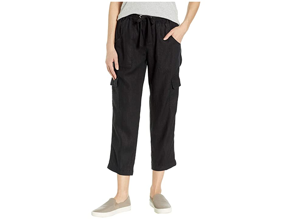 Sanctuary Discoverer Pull-On Cargo Pants (Black) Women