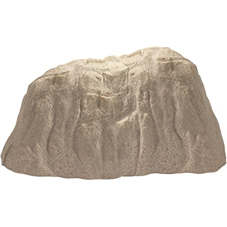 Amazon Com Emsco Group Landscape Rock Natural Sandstone Appearance Extra Large Boulder Lightweight Easy To Install Garden Outdoor