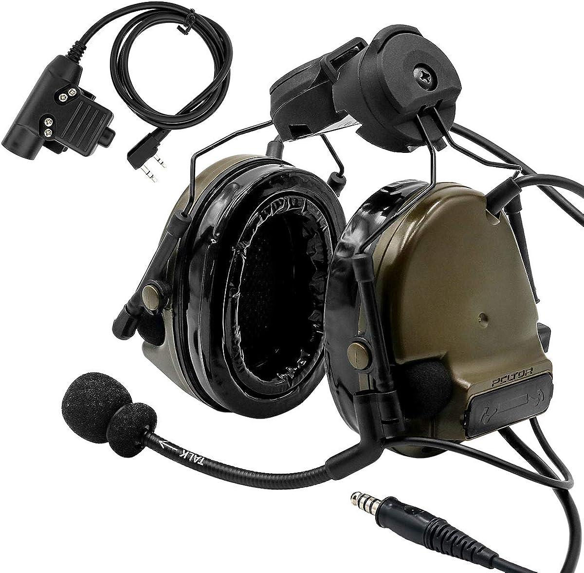 TAC-SKY COMTA III Max 71% OFF Helmet Tactical Minneapolis Mall Side E Airsoft Rail headphones