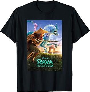 Disney Raya and the Last Dragon Movie Poster T-Shirt