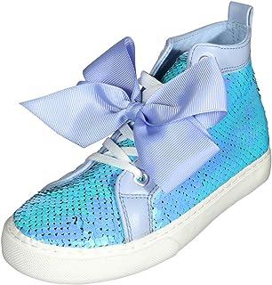 JoJo Siwa Girls Sequins High Top Sneakers (Little Kid/Big Kid)
