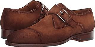 Lennon Grey Men's Monk Strap Shoes