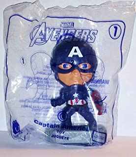 McDonald's 2019 Avengers Captain America Happy Meal Toy