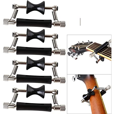 Guitar Rolling Capo Slide Glider Capo for Classic Acoustic Electric Guitar Heiß
