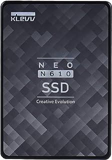 エッセンコアクレブ KLEVV SSD 256GB SATA3 6Gb/s 2.5インチ 7mm NAND採用 DRAMキャッシュ搭載 5年保証 NEO N610 K256GSSDS3-N61