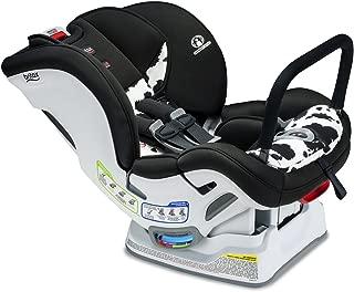 Britax Marathon ClickTight Anti-Rebound Bar Convertible Car Seat - 1 Layer Impact Protection - Rear & Forward Facing - 5 to 65 Pounds, Cowmooflage