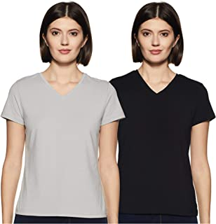 Amazon Brand - Symbol Women's Seasonal Basic plain