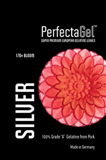PerfectaGel Silver Gelatin Sheets (170 Bloom) - 1kg [400 sheets]
