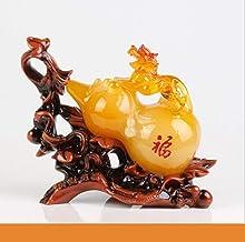Sculptuur Decoratie - Simple Sculpture Lucky Jinbao Feng Shui Hyacinth Statue Decoration Hars Ambachten Woondecoratie Kant...
