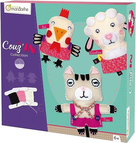 Little CouzIn Tina The Cat Avenue Mandarine Creative Boxes