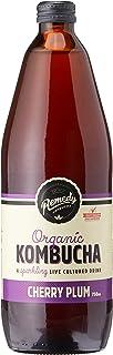 Remedy Organic Kombucha Cherry Plum Bottle, 750 ml