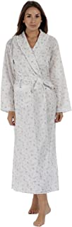 The1forU 100% Cotton Dressing Gown Housecoat Abigail