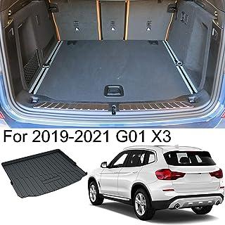 Kaungka Cargo Liner Rear Cargo Tray Trunk Floor Mat Waterproof Protector Compatible with 2019-2020 X3