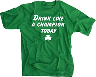 Drink Like A Champion Today Shirt - XL - St. Patrick's Day Notre Dame Fans