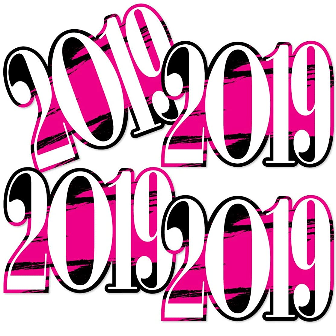 Pink Grad 2019 - Best is Yet to Come - 2019 Decorations DIY Pink Graduation Party Essentials - Set of 20