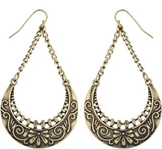 Best burnished gold earrings Reviews