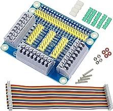 DAOKI GPIO Expansion Board Raspberry Pi Shield for Raspberry PI 4B/3B GPIO Extension Board Multi-Function with Screw Accessories for Raspberry Pi 3/2 DIY Kit