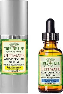 Anti Aging Serum 2-Pack Daytime, Nighttime Serums
