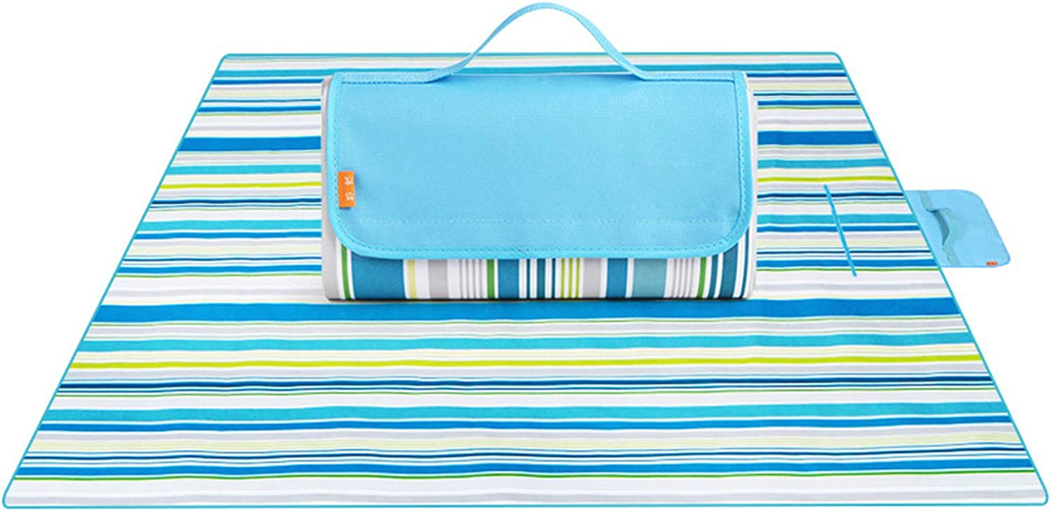 Outdoor Direct sale of manufacturer Picnic Blanket Machine Washable Extra Bea Max 76% OFF Large Foldable