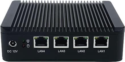 Firewall Micro Appliance With 4x Intel Gigabit Ports, Intel Atom E3845, AES-NI, 4GB RAM, 32GB mSATA