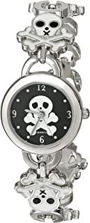 Frenzy Kids' FR160 Skull Novelty Analog Bracelet Watch