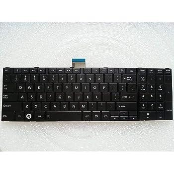 wangpeng New US Laptop Keyboard for Toshiba Satellite C50-B C55-B C55-B5299 C55-B5298 Laptop Keyboard Black