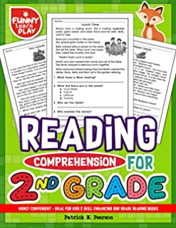 Reading Comprehension Grade 2: Highly Convenient - Ideal for Kids & Skill Enhancing 2nd Grade Reading Books