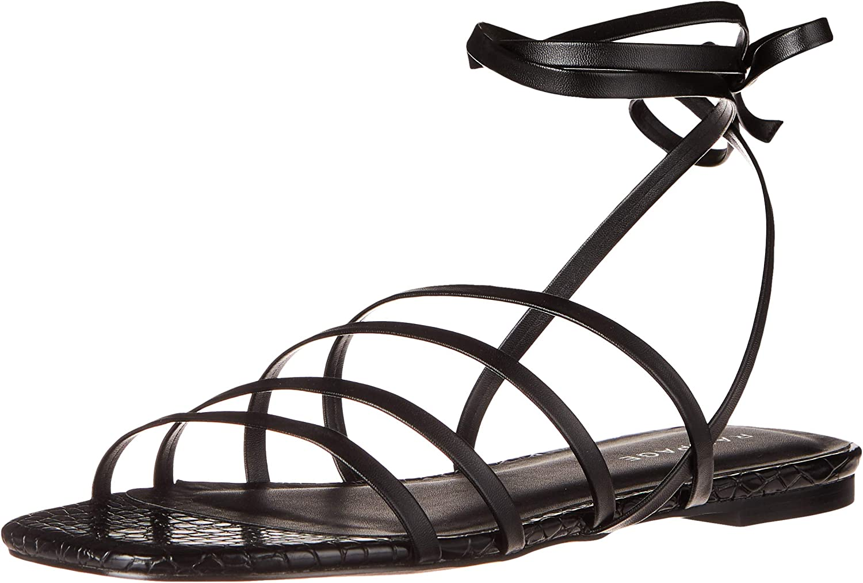 Rampage Women's Athena Sandal half Flat Strappy Cheap super special price