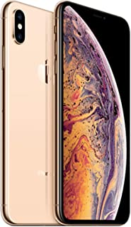 Apple iPhone XS Max, 64GB, Gold - Fully Unlocked (Renewed)