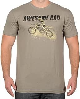 Men's Dirt Bike Motocross Racer Father's Day T-Shirt