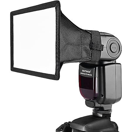 "Neewer 8""× 12(20cmX30cm Universal plegable cuadrado Studio Softbox Difusor de flash para On cámara o Off cámara Flash Gun, para Canon 430EX II, 580EX II, Nikon SB800SB600, Neewer TT680, TT850y más"