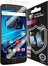 IPG for Motorola Lenovo Moto Z Droid & Force Screen Protection Invisible Phone Cover Protector Ultra HD Clear Film Skin Free Lifetime Replacement Warranty