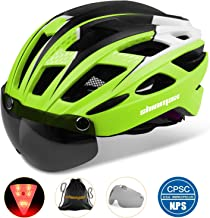Basecamp Bike Helmet, Bicycle Helmet CPSC Certified Cycling/Climbing Helmet BC-069 with..