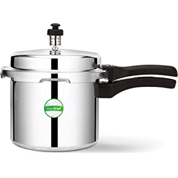 Greenchef Coral 3 Litre Pressure Cooker (Aluminium)