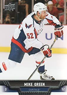 2013-14 Upper Deck Hockey #396 Mike Green Washington Capitals