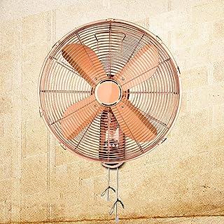 HRD Ventilador de Pared Retro, oscilante mecánico, con Control Remoto, Adecuado En Interiores y Exteriores, 60W