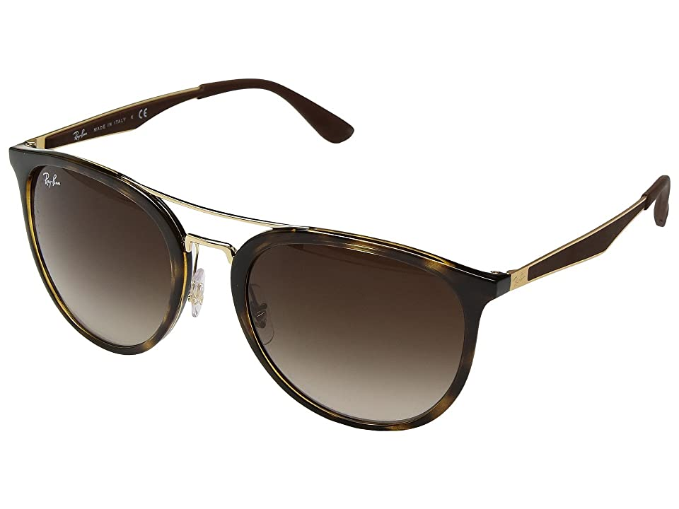 Ray-Ban RB4285 55mm (Light Havana/Brown Gradient) Fashion Sunglasses