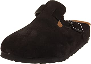 Boston Soft Footbed (Unisex), Black Suede, 38 N EU