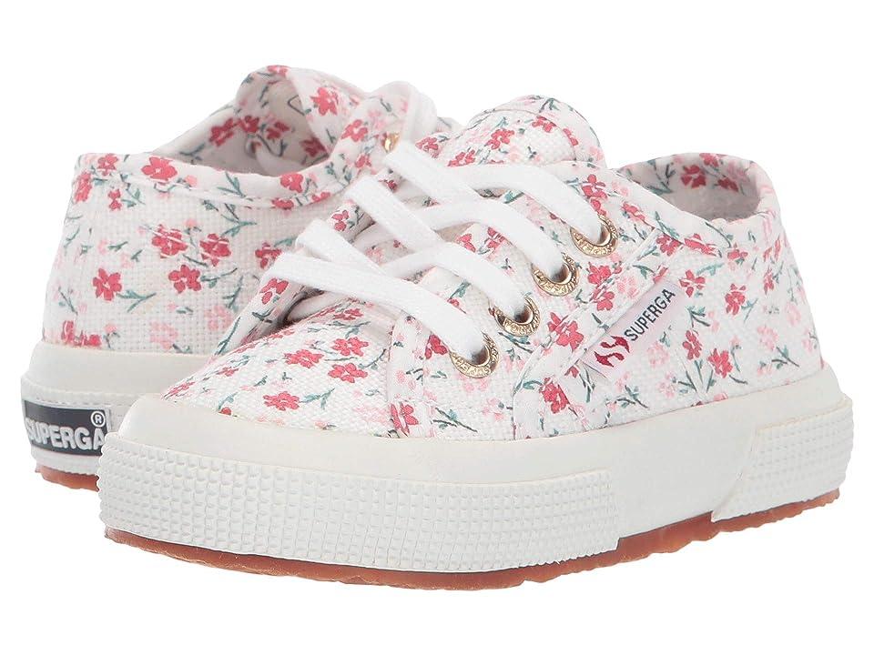 Superga Kids 2750 Printed COTJ (Toddler/Little Kid) (Floral Patent) Girls Shoes