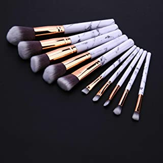 10pcs Professional Makeup Brush Set Foundation Blusher Cosmetic Make-up Brushes