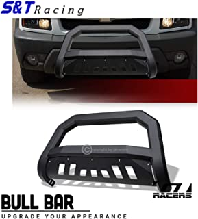 MOTORHOT Front Bumper Bull Bar Grille Guard fit for 99-07 Chevy Silverado//Sierra 1500