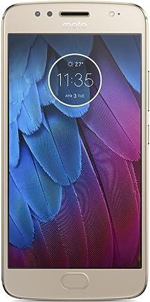Motorola Moto G5s Dual SIM - 32GB, 3GB RAM, 4G LTE, Fine Gold