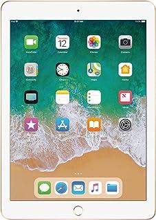 Apple iPad 9.7 with WiFi, 128GB- Gold (2017 Model) -...