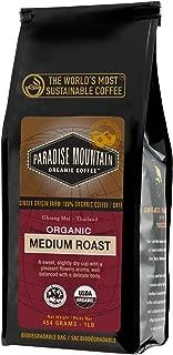 Paradise Mountain, Thailand Medium Roast, USDA Certified Organic, Direct Trade, Whole Bean Coffee 16 oz.