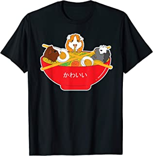 Guinea Pig Cavy Ramen Shirt Noodles Clothes Pasta Gift Idea