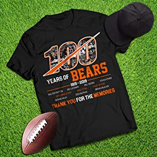100 Years Of Bears 100th Anniversary Football Champions Player Jersey Customized Handmade T-Shirt Hoodie/Long Sleeve/Tank Top/Sweatshirt