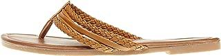 Womens Triple Braided Flip Flop Thong Sandal