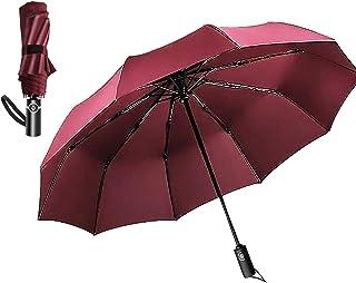 Compact Travel Umbrella - Auma Windproof, Reinforced Canopy, Ergonomic Handle, Lightweight Portable Umbrella -Auto Open an...